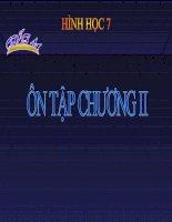 Bài giảng Tiet 44 On tap chuong II