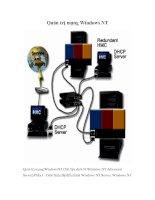 Tài liệu Quản trị mạng Windows NT pdf