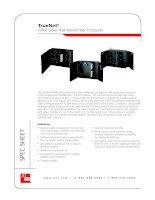 Tài liệu ADC KRONE - Datasheet - ODF - WMG Series Wall Mount Fiber Enclosures docx