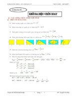 thể tích khối đa diện ôn thi TN THPT