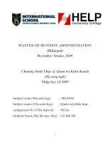 """Thạc sỹ phân tích và đánh giá chiến lược kinh doanh của ngân hàng TMCP đại dương (OCEANBANK)"""""""