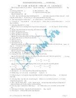 Tài liệu Bài tập trắc nghiệm phần tính chất sóng - hạt của ánh sáng pdf