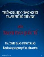 Tài liệu GÍAO ÁN THANH TOÁN QUỐC TẾ- CHƯƠNG 1 pdf