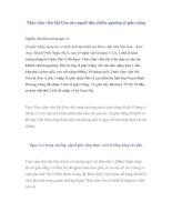 Tài liệu Thảo cầm viên Sài Gòn cho người dân chiêm ngưỡng tê giác trắng pptx