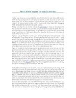 Tài liệu Những mối đe doạ đối với đa dạng sinh học pdf