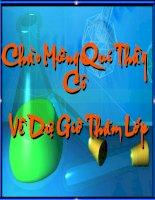 Bài soạn Bài 19: Chuyển đổi giữa khối lượng, thể tích và lượng chất