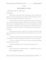 Tài liệu Kết cấu và tính toán ôtô (Phần truyền lực trên ôtô) - Chương 4 pptx