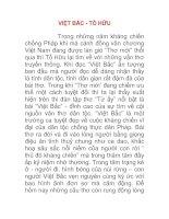 Tài liệu Phân tích tính dân tộc trong bài thơ Việt Bắc của Tố Hữu docx