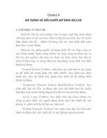 Tài liệu luận văn nghiên cứu hệ thống điều khiển mờ bằng MATLAB, chương 9 ppt