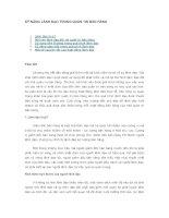 Tài liệu Những kỹ năng lãnh đạo bán hàng docx