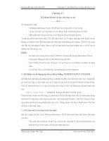 Tài liệu Hướng dẫn lập trình VB.NET Chương 17: Kế thừa form và tạo các lớp cơ sở ppt