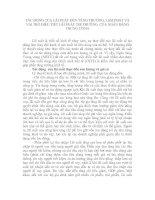 Tài liệu TÁC ĐỘNG CỦA LÃI SUẤT ĐẾN TĂNG TRƯỞNG, LẠM PHÁT VÀ VAI TRÒ ĐIỀU TIẾT LÃI SUẤT THỊ TRƯỜNG CỦA NGÂN HÀNG TRUNG ƯƠNG pptx