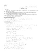 Tài liệu Tiết 38-Luyện tập Đại số 9