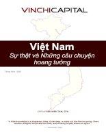 Tài liệu Việt Nam sự thật và những câu chuyện hoang tưởng pptx