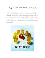 Tài liệu Ngày đầu đón nhân viên mới pdf