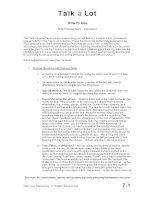 Tài liệu Spoken english elementary handbook part 9 doc
