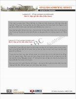 Tài liệu English for Business (Lesson 6) pptx