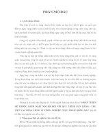 HOÀN THIỆN HỆ THỐNG KIỂM SOÁT nội bộ đối với QUY TRÌNH bán HÀNG   THUTIỀN tại TỔNG CÔNG TY CÔNG NGHIỆP THỰC PHẨM ĐỒNG NAI