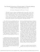 The simple economics of easter island   a ricardo malthus model of renewable resource use