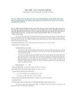 Tài liệu Miễn tiền thuê đất, thuê mặt nước (dưới đây gọi chung là tiền thuê đất) nước trong thời gian tạm ngừng xây dựng cơ bản theo sự xác nhận của cơ quan cấp giấy phép đầu tư pdf