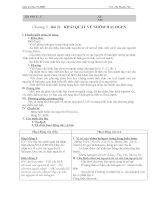 Bài soạn Giáo án HKII - Hóa 10 chuẩn kiến thức kĩ năng