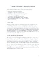 Tài liệu Lập trình Corel - Chương 7: Xử lý ngoại tệ docx