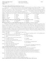 Tài liệu [Luyện thi tiếng Anh] Test on English_05 pptx