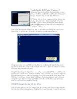 Tài liệu Tìm hiểu chế độ XP của Windows 7 ppt