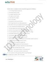 Ôn thi đại học môn Tiếng Anh- bài tập tự luyện