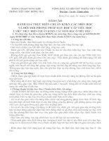 Tài liệu BÁO CÁO ĐÁNH GIÁ CHUẨN KTKN