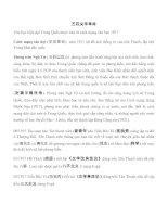 Tài liệu Lịch sử văn học Trung Quốc docx