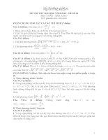 Tài liệu 13 đề thi ĐH 2010 môn Toán pdf