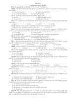 Bài soạn 5 đề luyện thi có ĐA