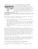 Tài liệu Cách cấu hình máy chủ Telnet với Windows Server 2008 doc