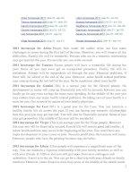 Bài soạn bài đọc thêm về ZODIAC HOROSCOPES