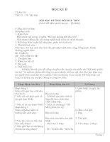 Bài giảng Giáo án ngữ văn 6 kì 2