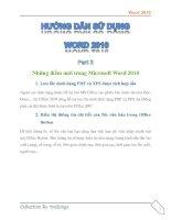 Tài liệu Hướng dẫn sử dụng word 2010 part 2 docx