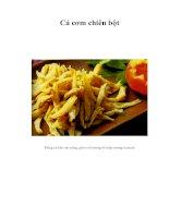 Tài liệu Cá cơm chiên bột pdf