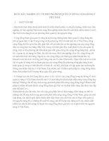 Tài liệu BƯỚC ĐẦU NGHIÊN CỨU VỀ PHƯƠNG PHÁP QUẢN LÝ RỪNG CỘNG ĐỒNG Ở VIỆT NAM pptx