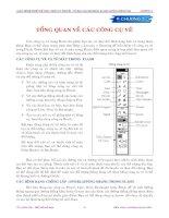 Tài liệu Chương 2: Tổng quan về các công cụ vẽ pptx
