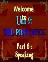 Bài giảng UNIT 9 : SPEAKING (E.11)