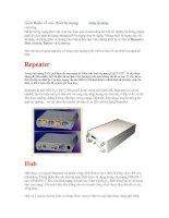 Tài liệu Giới thiệu về các thiết bị mạng pptx