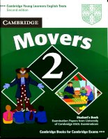 Cambridge English : Movers 2