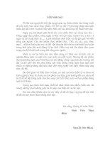 Tài liệu đồ án hệ thống lạnh cho nhà máy thủy sản, chương 1 pdf