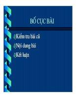 Tài liệu Mối liên hệ của các hợp chất hữu cơ pdf