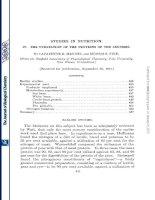Tài liệu STUDIES IN NUTRITION pptx