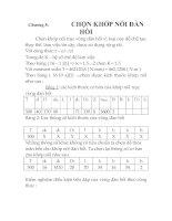 Tài liệu THIẾT KẾ HỆ THỐNG DẪN ĐỘNG XÍCH TẢI, chương 8 ppt