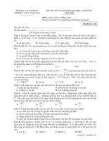 Tài liệu Đề thi thử đại học môn Vật lý 12 - Nâng cao ppt