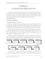 Tài liệu KỸ NĂNG GIAO TIẾP TRONG KINH DOANH CHƯƠNG 3 docx