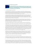 Tài liệu 10 lợi ích của hệ thống thương mại WTO pptx